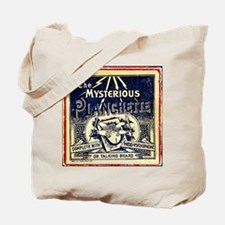 Vintage Ouija Mystery planchette Ad Tote Bag