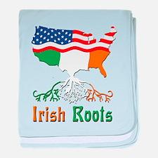 American Irish Roots baby blanket