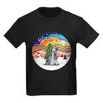 XMusic2-Cesky T (slt) Kids Dark T-Shirt