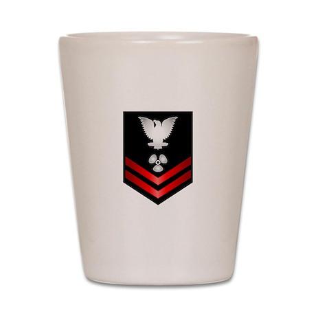 Navy PO2 Machinist's Mate Shot Glass