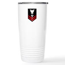 Navy PO2 Machinist's Mate Travel Mug