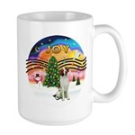 XMusic2 - Brittany Spaniel Large Mug