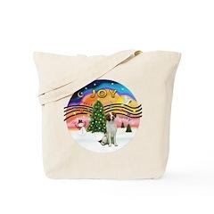 XMusic2 - Brittany Spaniel Tote Bag