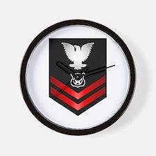 Navy PO2 Master at Arms Wall Clock