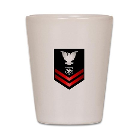 Navy PO2 Master at Arms Shot Glass