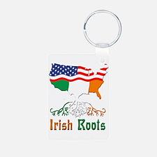 American Irish Roots Keychains