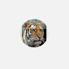 Majestic Tiger Mini Button