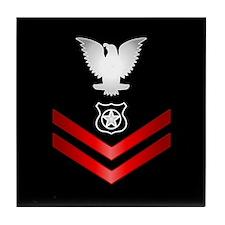 Navy PO2 Master at Arms Tile Coaster