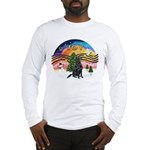 XMusic-Flat Coated Retrvr. Long Sleeve T-Shirt