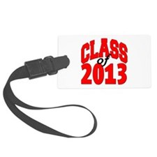 Class of 2013 (red) Luggage Tag