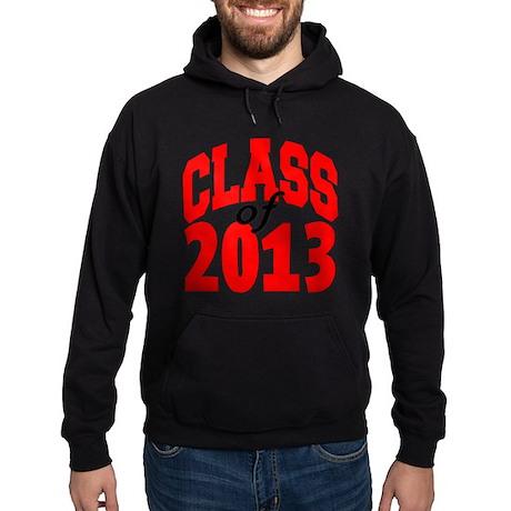 Class of 2013 (red) Hoodie (dark)