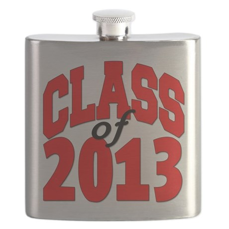 Class of 2013 (red) Flask