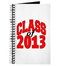 Class of 2013 (red) Journal