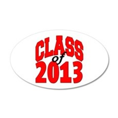Class of 2013 (red) Wall Decal