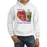 Aloe 2 Go, in a New York minute Hooded Sweatshirt