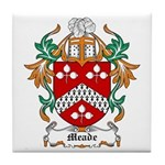 Meade Coat of Arms Tile Coaster
