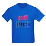 Free Speech Kids Dark T-Shirt