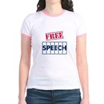Free Speech Jr. Ringer T-Shirt