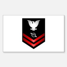 Navy PO2 Operations Specialist Decal