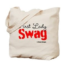 First Lady Swag-Red Tote Bag