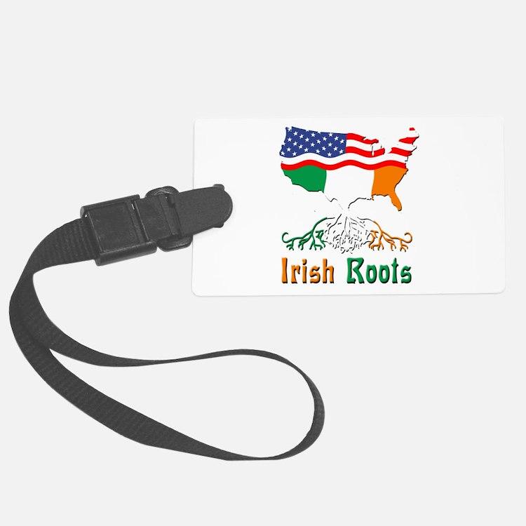 American Irish Roots Luggage Tag
