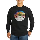 Bichon frise Long Sleeve Dark T-Shirts
