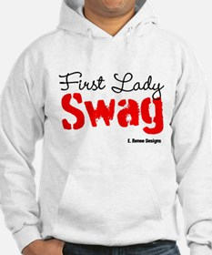 First Lady Swag-Red Jumper Hoody
