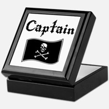 Captain Keepsake Box