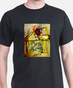 Death Slides Across Thought Bombs T-Shirt