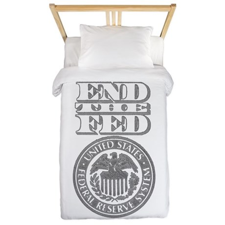 End The Fed Twin Duvet