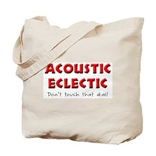 Two-Sided Acoustic Eclectic Tote Bag
