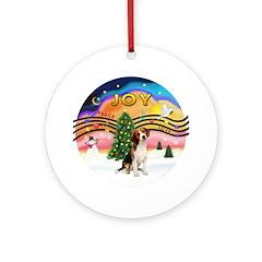 XMusic2 - Beagle Ornament (Round)