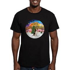 XMusic2 - Beagle Men's Fitted T-Shirt (dark)