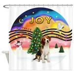 XMusic2 - Beagle Shower Curtain