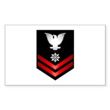 Navy PO2 Quartermaster Decal