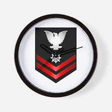 Navy PO2 Quartermaster Wall Clock