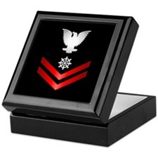 Navy PO2 Quartermaster Keepsake Box