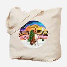 XMusic2-Basenji Tote Bag