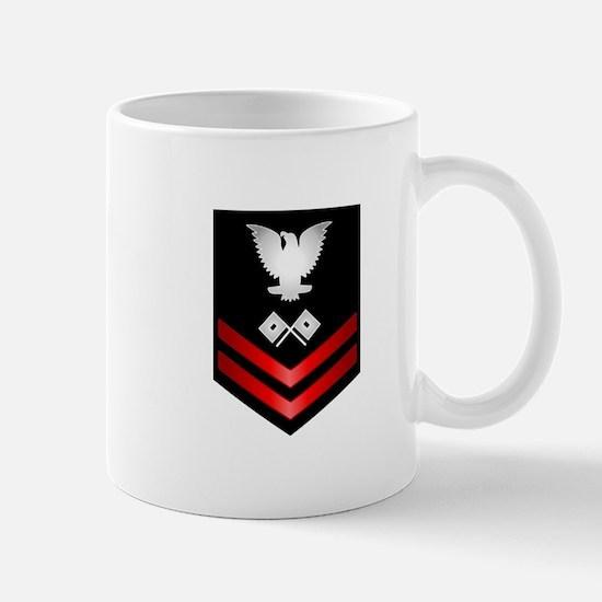 Navy PO2 Signalman Mug