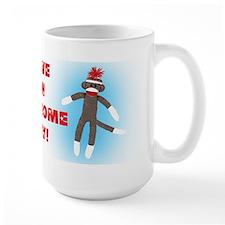 Awesome Sock Monkey Mug