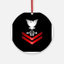 Navy PO2 Sonar Technician Ornament (Round)