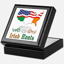 American Irish Roots Keepsake Box