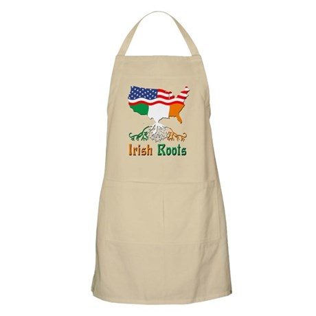 American Irish Roots Apron