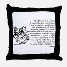 Now I Lay Me Down To Sleep Paws4Critters Cat Throw