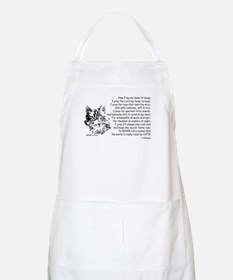 Now I Lay Me Down To Sleep Paws4Critters Cat Apron