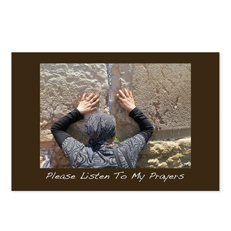 LIsten To My Prayers Jewish New Year Card Postcard
