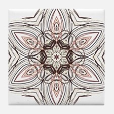 Diamond Daisy Tile Coaster