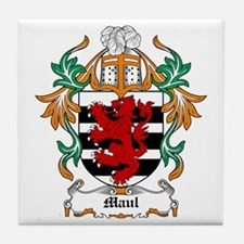 Maul Coat of Arms Tile Coaster