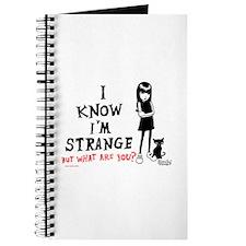 I Know I'm Strange Journal