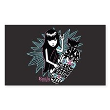 Skater Girl Decal